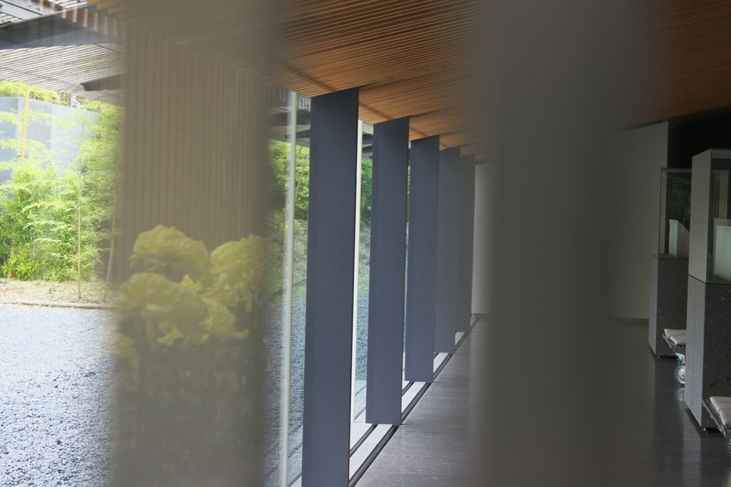隈研吾 馬頭広重美術館