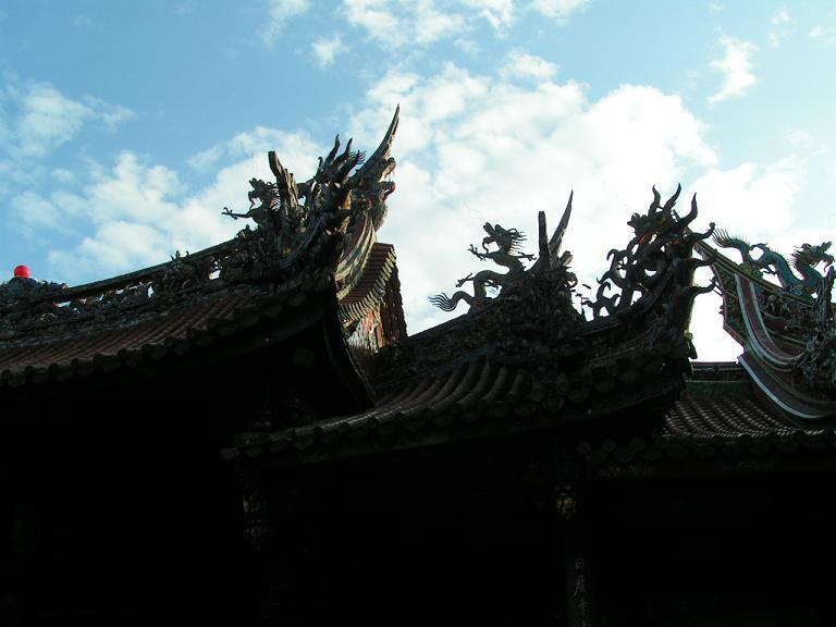 龍山寺の龍