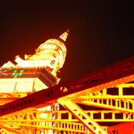 NIKON NIKON D60で撮影した建物(tokyo tower)の写真(画像)