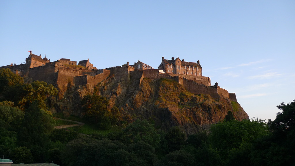 夕方のEdinburgh Castle
