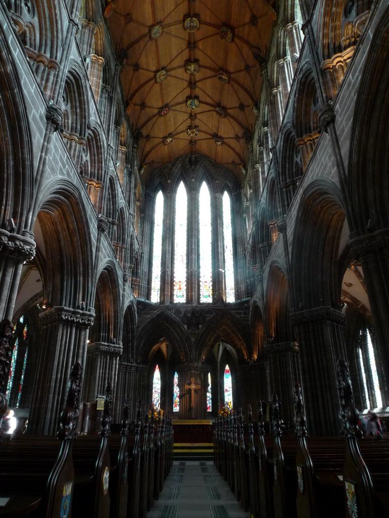 グラスゴー大聖堂の重厚感