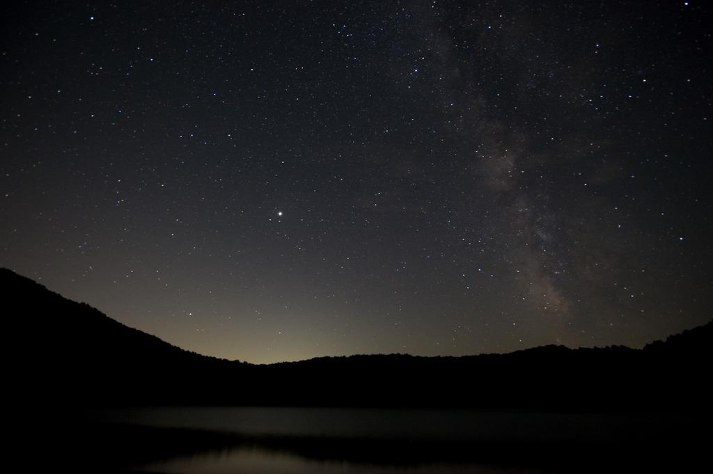 夜空のにぎわい