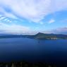 晴れの摩周湖