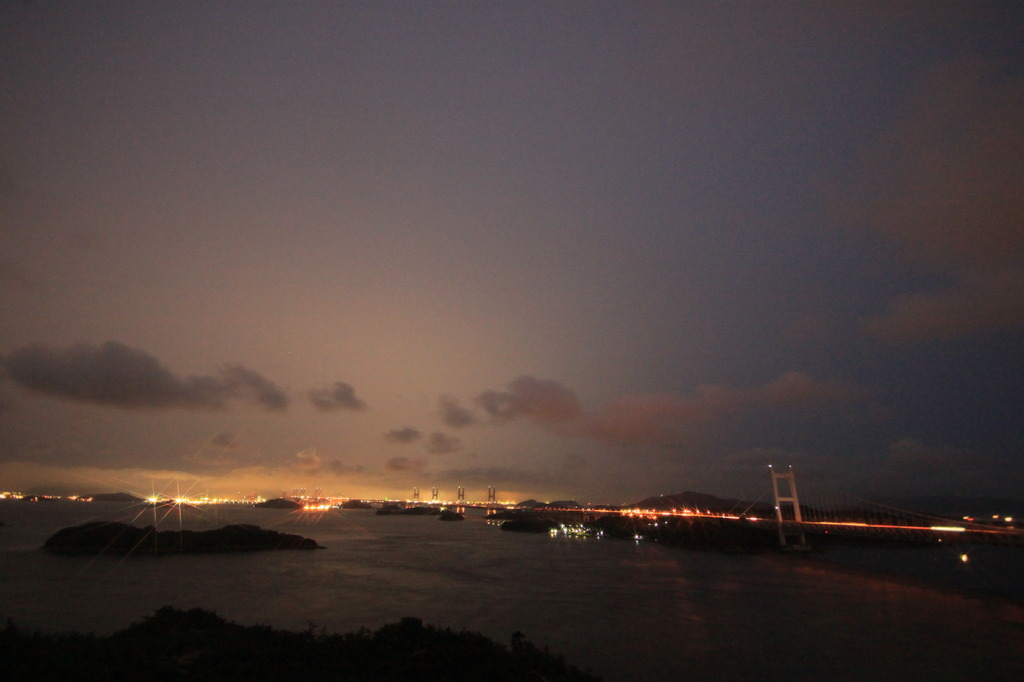 雨の日の瀬戸大橋2