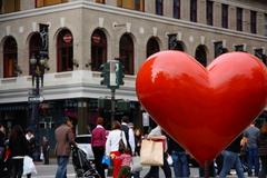 Heart in Union Square