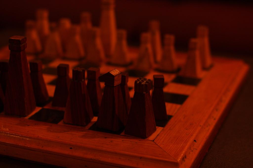 Chess board @ Monroe