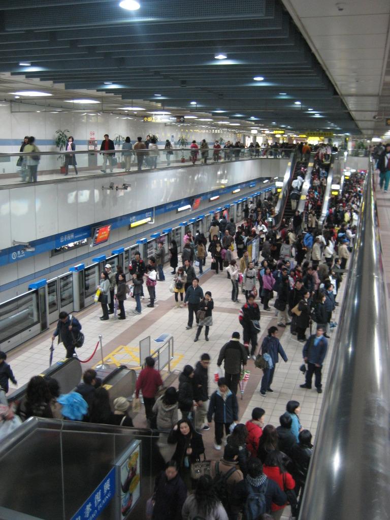 台北のMRT(地下鉄)
