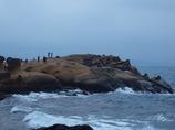 巨大岩出現