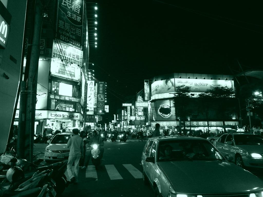 逢甲夜市(ホンジャ イェスー)