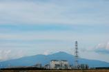 鳥海山(酒田北港から)