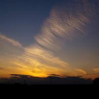 OLYMPUS E-420で撮影した風景(夕焼)の写真(画像)