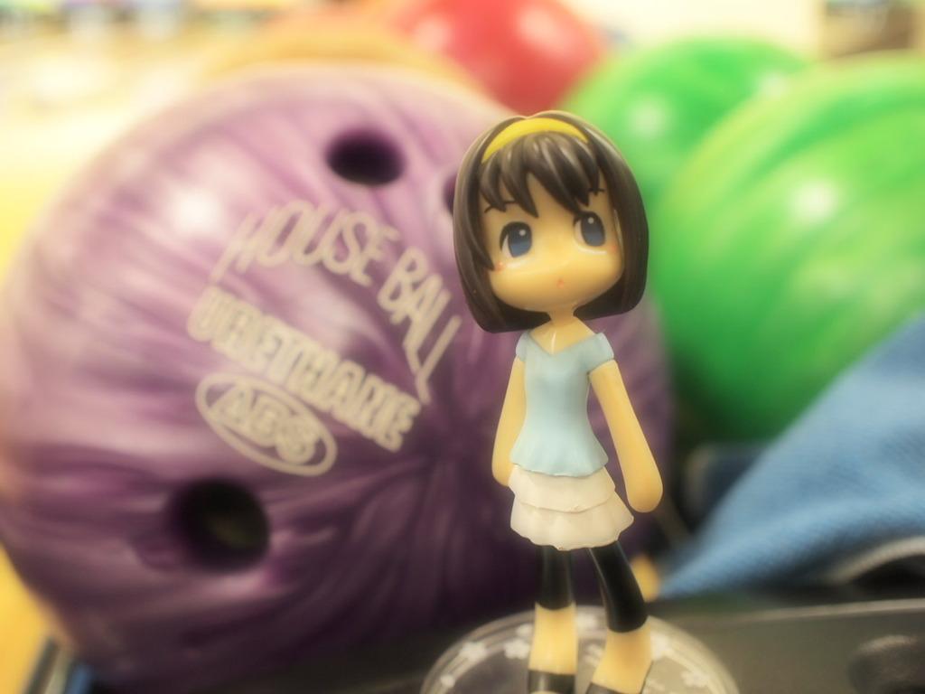 ボーリング玉と(ファンタジックフォーカス)