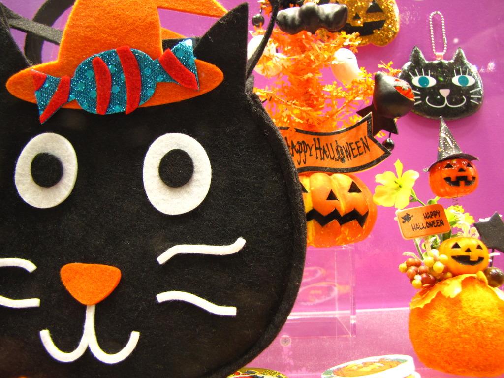 へんてこ黒猫