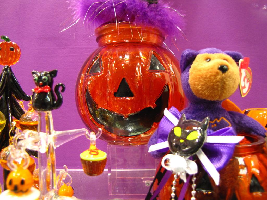 かぼちゃと 黒猫
