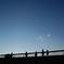 多摩湖の堤防