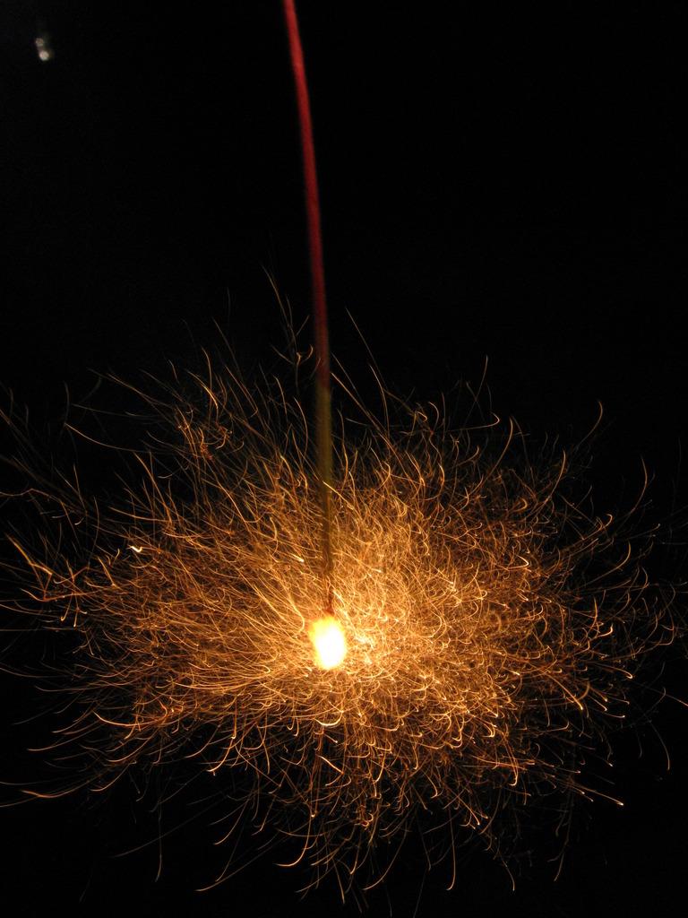 我が家の花火大会