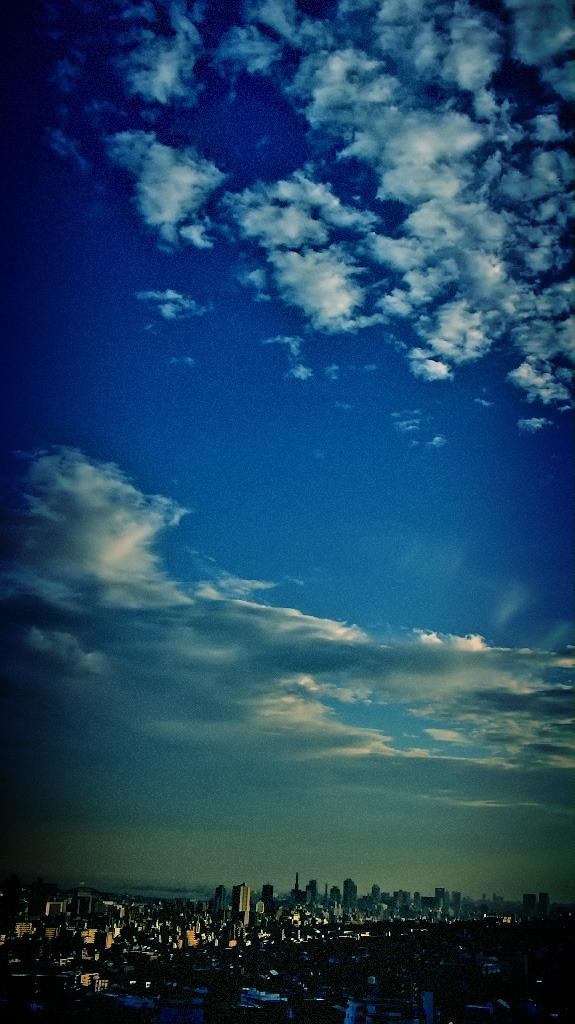 8月23日の、空