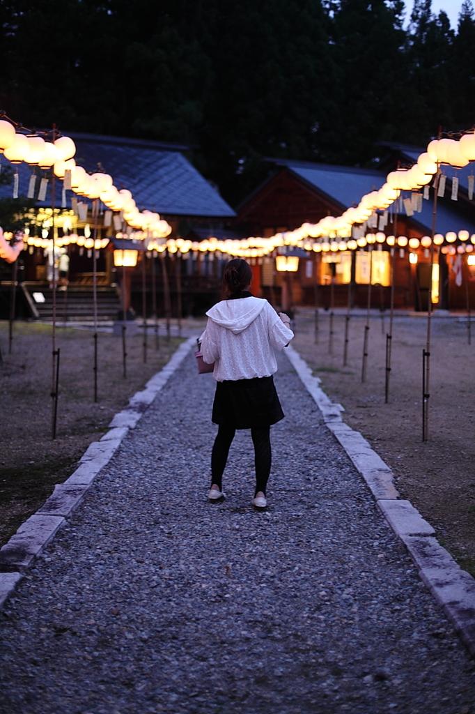夏祭りの夜