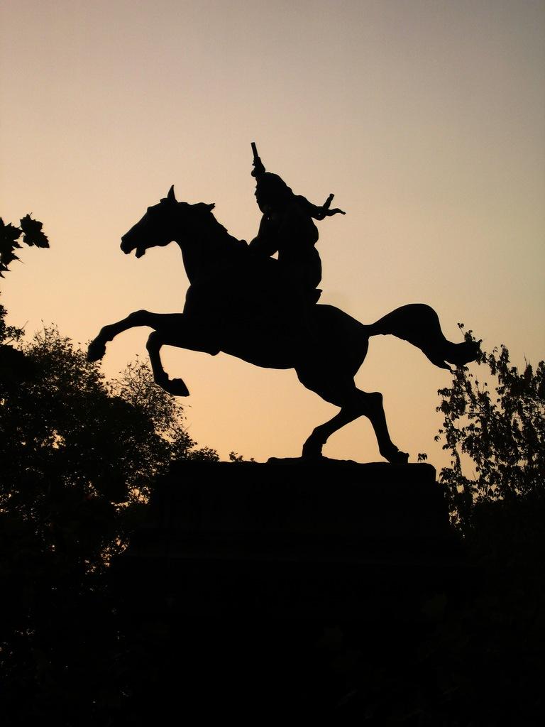 ジャニコロの丘の銅像