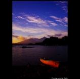 会津磐梯山の夜明け