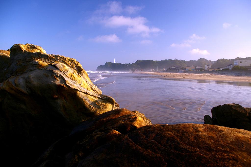 砂に浮かぶ島