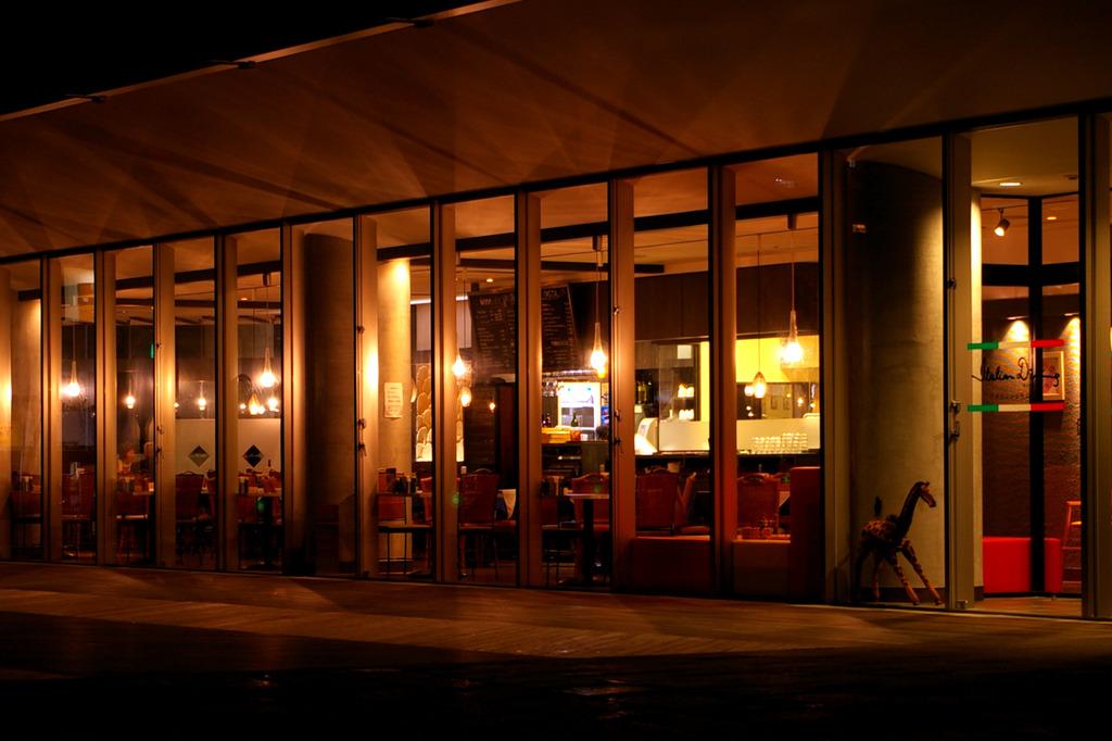 電球のレストラン