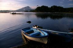 湖の夜明け⑦