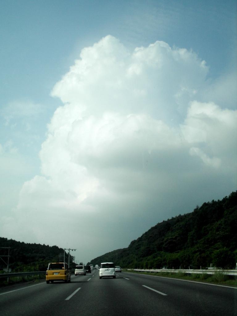 九州自動車道.夏