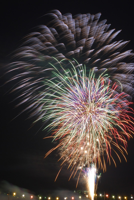 盛岡花火の祭典2009 (3)