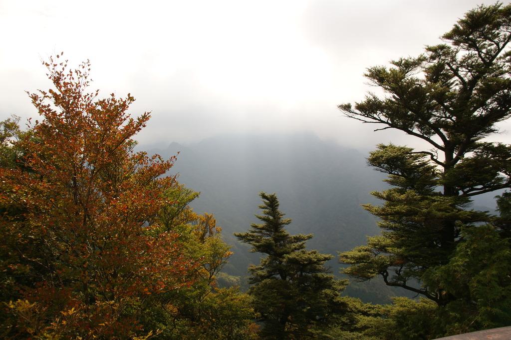 これが西日本最高峰 石鎚山