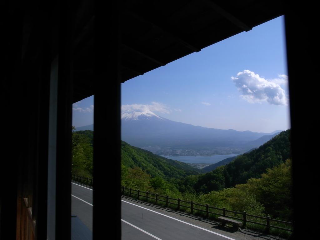 富士 天下茶屋 2階から