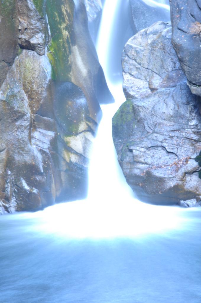 Laser water fall