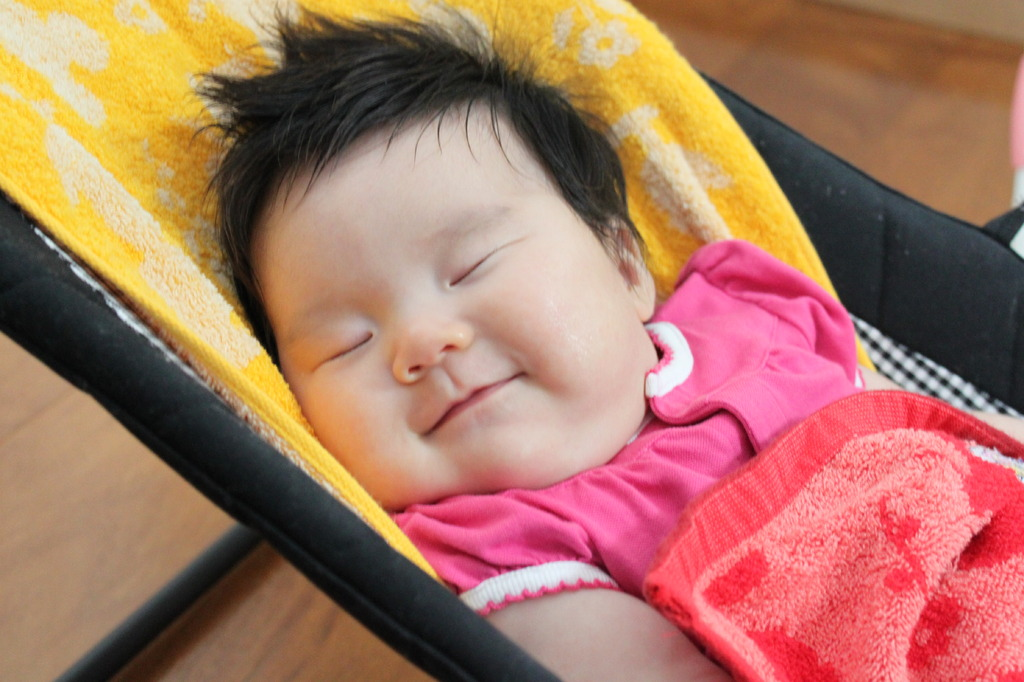 天使の笑顔