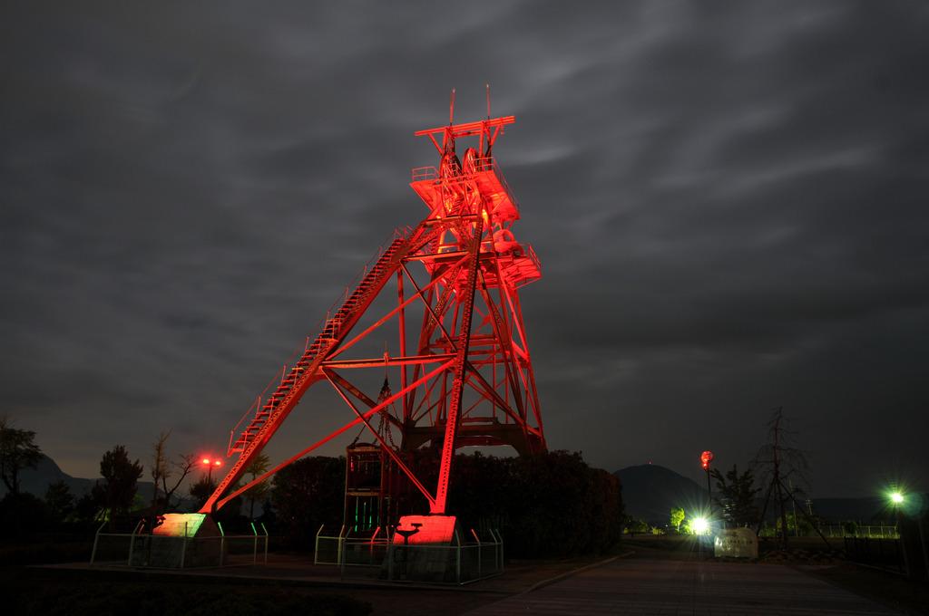炭鉱時代の昇降機