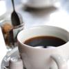 締めはコーヒー