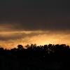 夕空とシルエット