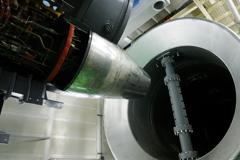 ジェットエンジン試験設備
