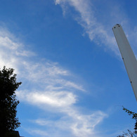CANON Canon EOS 20Dで撮影した建物(白亜の煙突)の写真(画像)