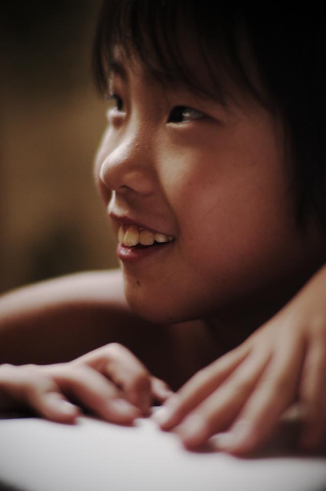 少年の笑顔