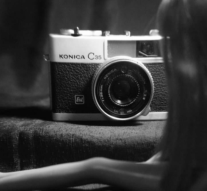 カメラと彼女