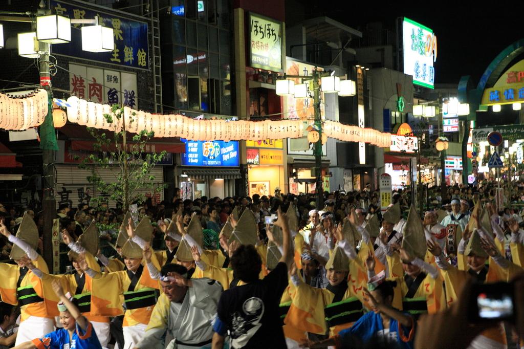 高円寺阿波踊り10