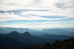 二岐山 男岳頂上