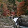 岩場と紅葉
