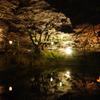 亀ヶ城跡のお堀にて(棚倉城)