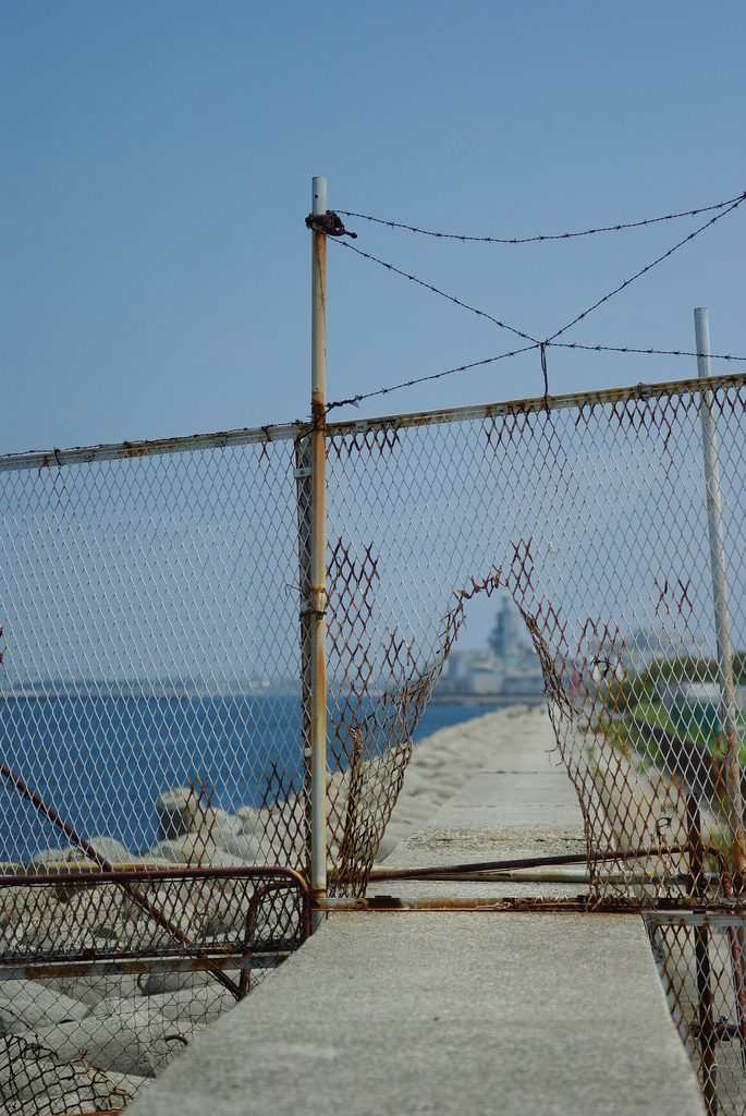 海への通路