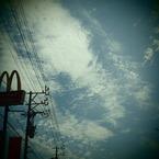 OLYMPUS E-P1で撮影した風景(20090823空3)の写真(画像)