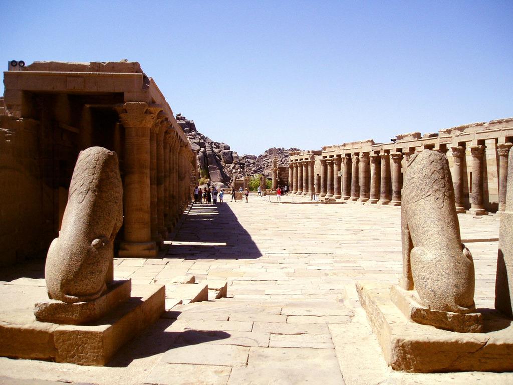 エジプトの狛犬