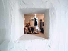 正方形カフェ