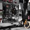 黄色い自転車