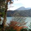 秋の六観音池と韓国岳